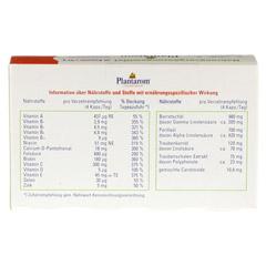 PLANTAROM Vitalstoff Kapseln 60 St�ck - R�ckseite