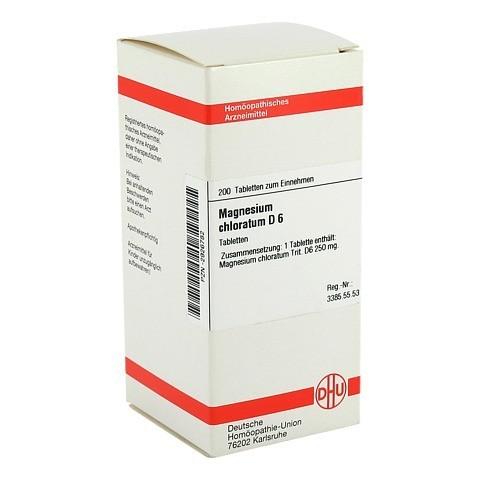 MAGNESIUM CHLORATUM D 6 Tabletten 200 Stück N2
