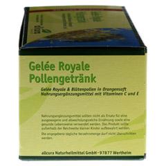 GELEE ROYAL Trinkampullen 30x15 Milliliter - Rechte Seite