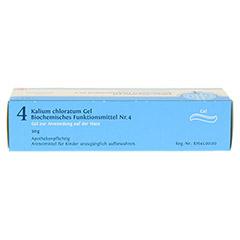 BIOCHEMIE DHU 4 Kalium chloratum D 4 Gel 50 Gramm N1 - Oberseite