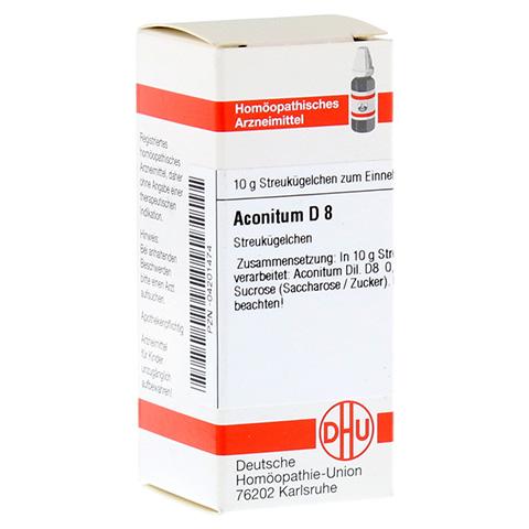 ACONITUM D 8 Globuli 10 Gramm N1