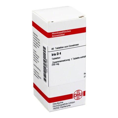IRIS D 4 Tabletten 80 Stück N1