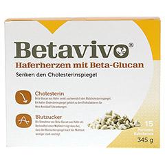 BETAVIVO mit Beta-Glucan aus Hafer 15x23 Gramm - Vorderseite