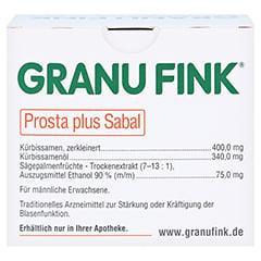 GRANU FINK Prosta plus Sabal 200 St�ck - R�ckseite