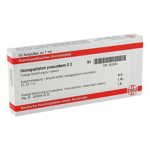 HARPAGOPHYTUM PROCUMBENS D 3 Ampullen 10x1 Milliliter N1