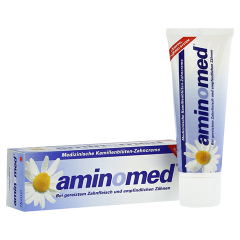AMIN O MED Fluorid Kamille Zahnpasta 75 Milliliter