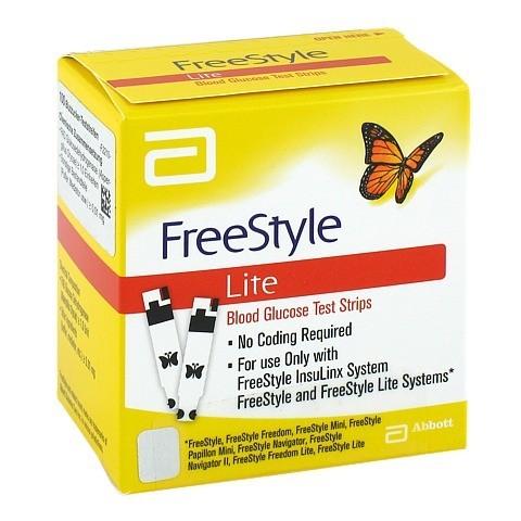 FREESTYLE Lite Teststreifen ohne Codieren 100 St�ck