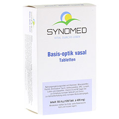 BASIS OPTIK vasal Tabletten 120 Stück