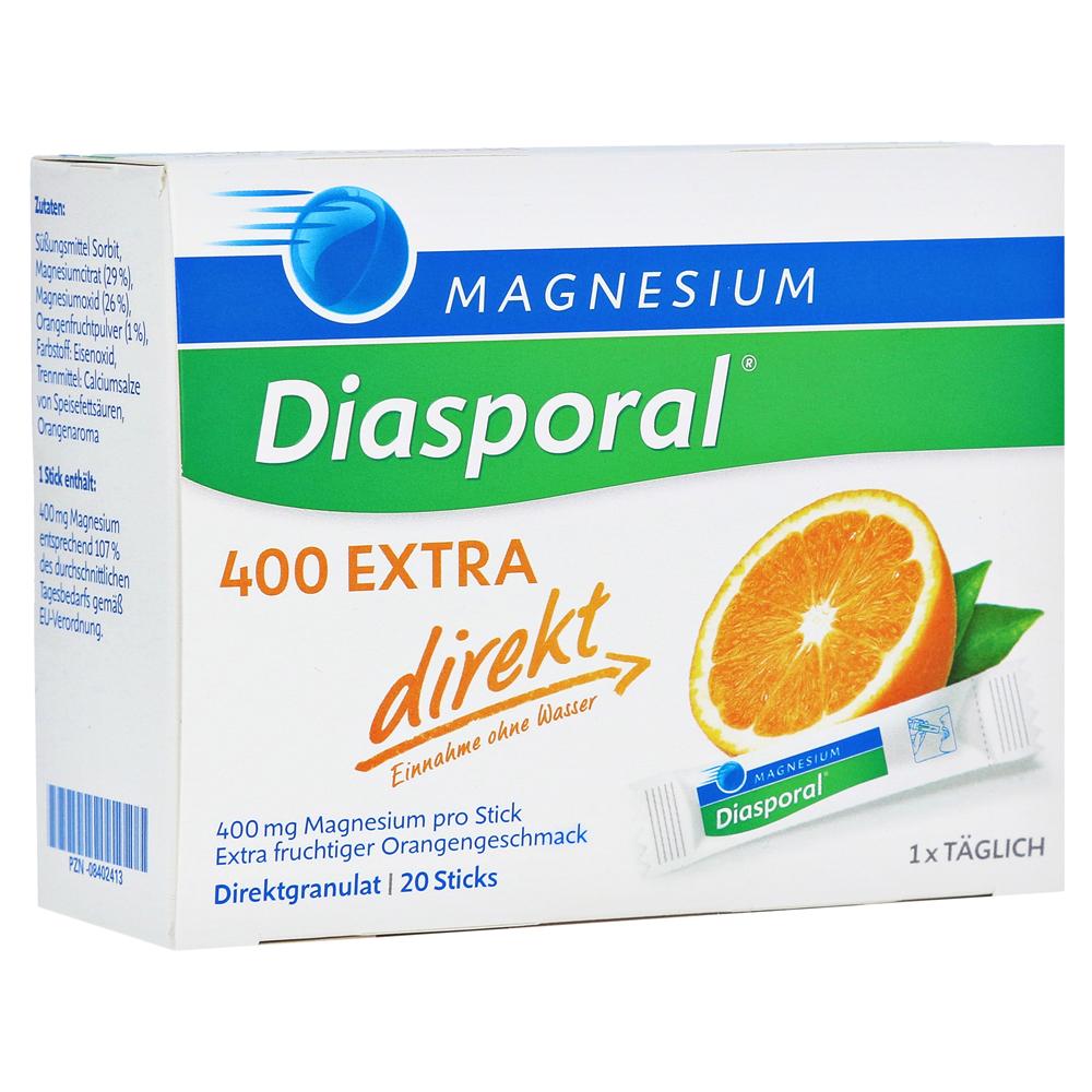 magnesium diasporal 400 extra direkt granulat 20 st ck. Black Bedroom Furniture Sets. Home Design Ideas