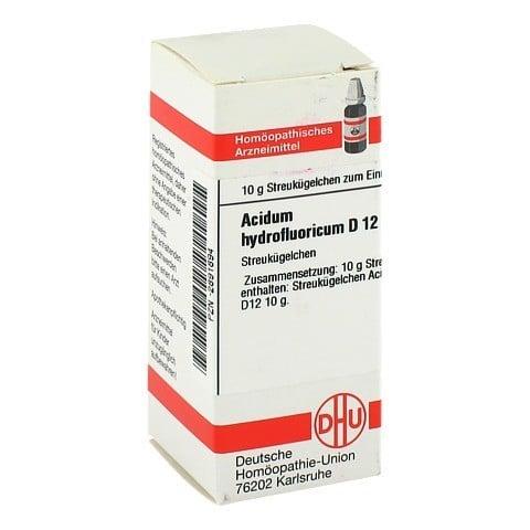 ACIDUM HYDROFLUORICUM D 12 Globuli 10 Gramm N1