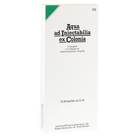 AQUA AD iniectabilia ex Colonia Ampullen 10x5 Milliliter N2