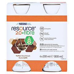 RESOURCE 2.0 fibre Kaffee 4x200 Milliliter - Vorderseite