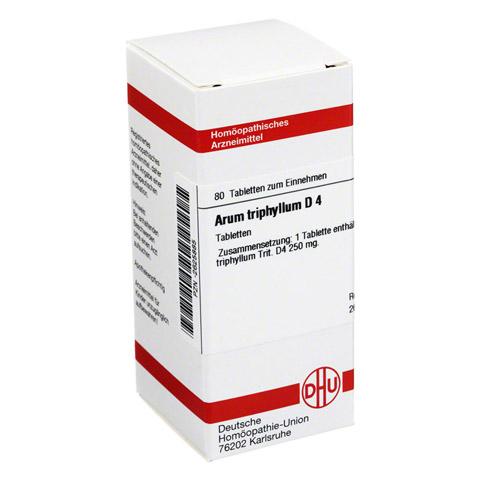 ARUM TRIPHYLLUM D 4 Tabletten 80 St�ck N1