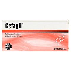 CEFAGIL Tabletten 20 Stück - Vorderseite