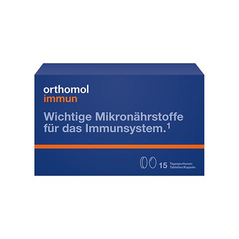 ORTHOMOL Immun 15 Tabl./Kaps.Kombipackung 1 Stück