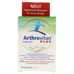 ARTHROVITAN Plus Kapseln 20 Stück - Vorderseite