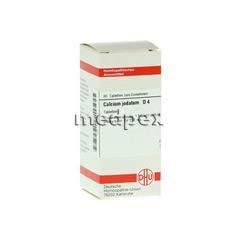 CALCIUM JODATUM D 4 Tabletten 80 Stück N1