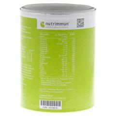 MUCOZINK Pulver 600 Gramm - Rückseite