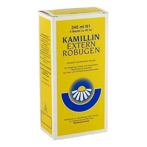 KAMILLIN Extern Robugen Lösung 6x40 Milliliter N1