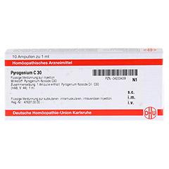 PYROGENIUM C 30 Ampullen 10x1 Milliliter N1 - Vorderseite