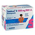 SANDOCAL D 1000/880 Granulat 50 Stück N2