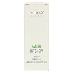 BELIEVA Natural Intensiv Creme 30 Milliliter - Rückseite