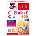 DOPPELHERZ C+Zink+E Depot Tabletten 40 St�ck