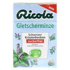 RICOLA o.Z. Box Gletscherminze 50 Gramm - Vorderseite