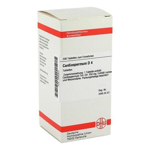 CARDIOSPERMUM D 4 Tabletten 200 St�ck N2