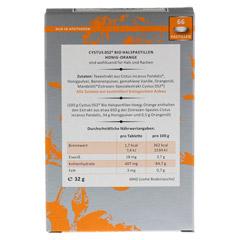 CYSTUS 052 Bio Halspastillen Honig Orange 66 St�ck - R�ckseite