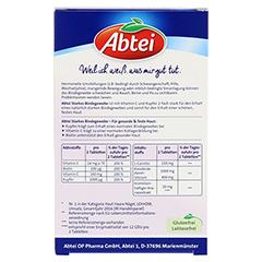 ABTEI Starkes Bindegewebe (Plus Kieselerde & Ananas-Extrakt) 42 Stück - Rückseite