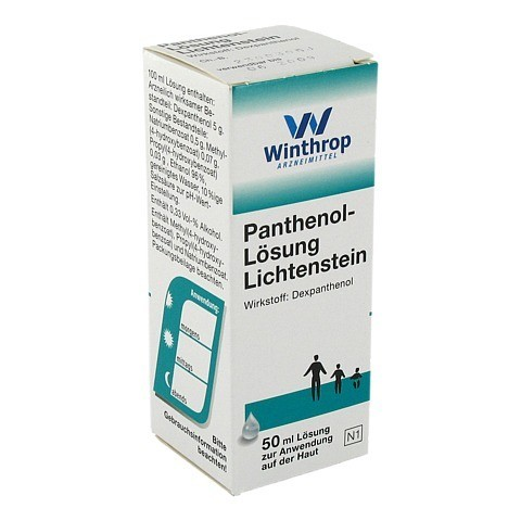 Panthenol-Lösung Lichtenstein 50 Milliliter