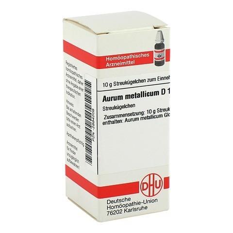 AURUM METALLICUM D 10 Globuli 10 Gramm N1