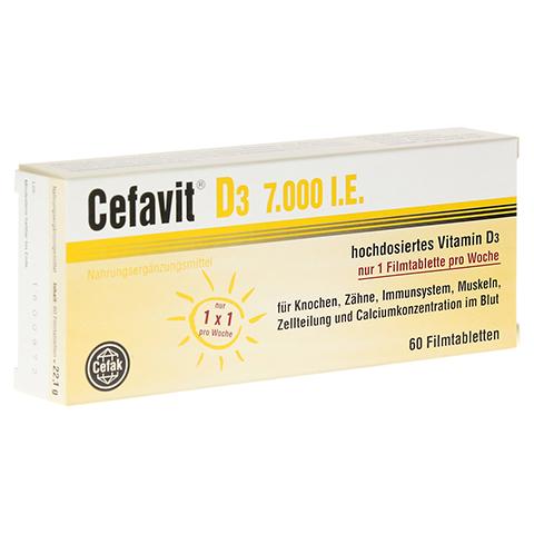CEFAVIT D3 7.000 I.E. Filmtabletten 60 Stück