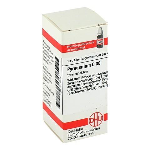 PYROGENIUM C 30 Globuli 10 Gramm N1