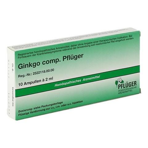 GINKGO COMP.Pflüger Ampullen 10 Stück N1