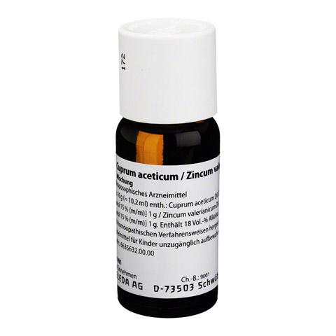 CUPRUM ACETICUM/Zincum valerianicum Dilution 50 Milliliter N1