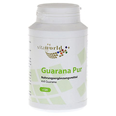 GUARANA PUR 500 mg Kapseln 120 St�ck