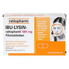 IBU-LYSIN-ratiopharm 684mg 50 Stück N3 - Vorderseite