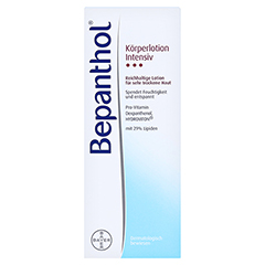 BEPANTHOL Intensiv Körperlotion Flasche 200 Milliliter - Vorderseite
