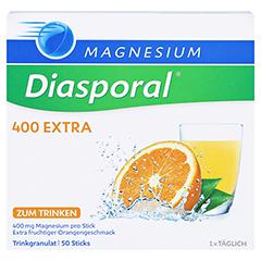 MAGNESIUM DIASPORAL 400 Extra Trinkgranulat 50 St�ck - Vorderseite