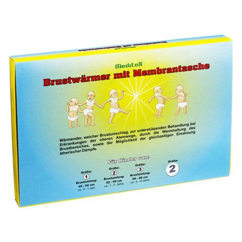 BRUSTW�RMER + Membrantasche Gr. 2 1 St�ck