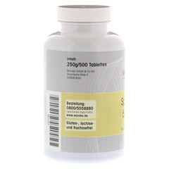 SPIRULINA 500 Tabletten 500 Stück - Linke Seite