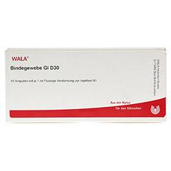 BINDEGEWEBE GL D 30 Ampullen 10x1 Milliliter N1 - Vorderseite