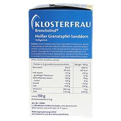 KLOSTERFRAU Broncholind heißer Granatapfel-Sandd. 10x15 Gramm - Linke Seite