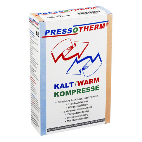 PRESSOTHERM Kalt-Warm-Kompr.16x26 cm 1 Stück