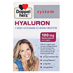 DOPPELHERZ Hyaluron system Kapseln 30 Stück - Vorderseite
