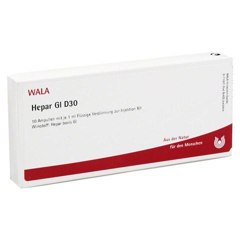 HEPAR GL D 30 Ampullen 10x1 Milliliter N1