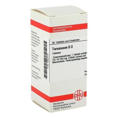 TARAXACUM D 3 Tabletten 80 Stück N1