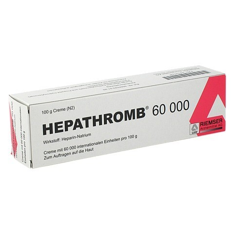Hepathromb 60000 100 Gramm N2